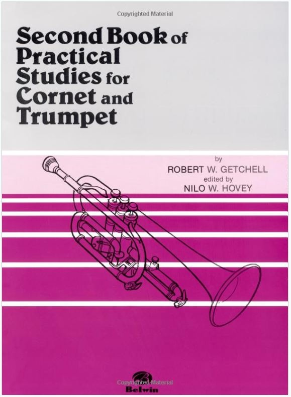 Alfred Second Book of Practical Studies for Cornet and Trumpet