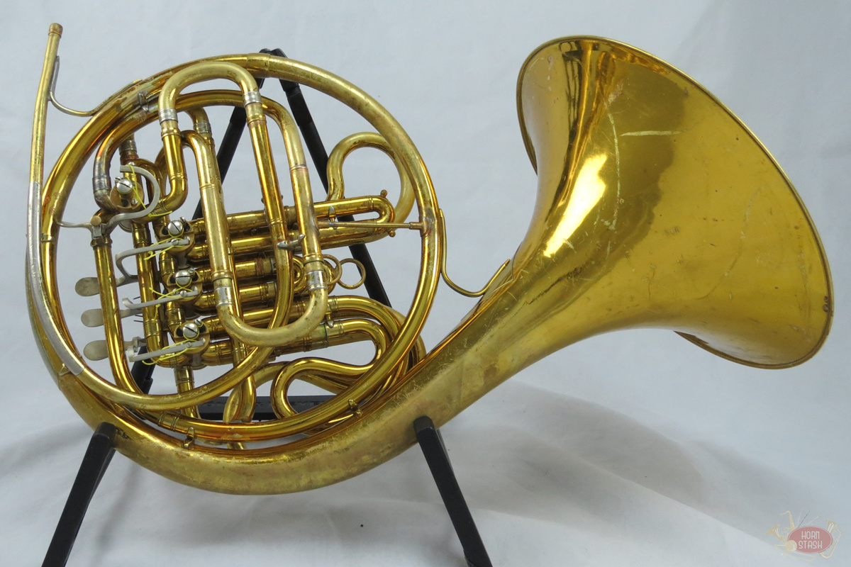 King Used King HN White Double French Horn