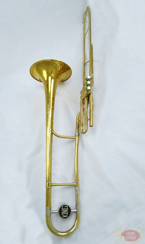 King Used King 3B Valve Tenor Trombone