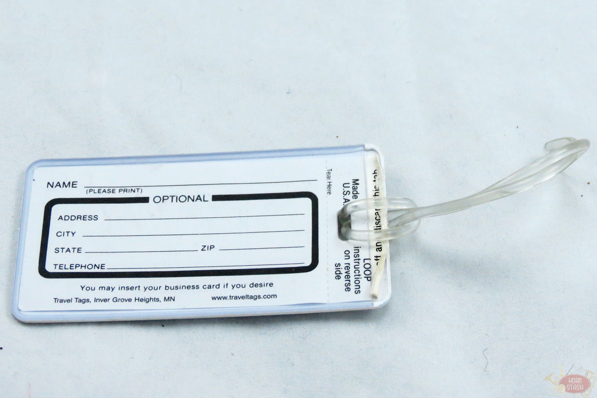 Fix This! Instrument ID Tag
