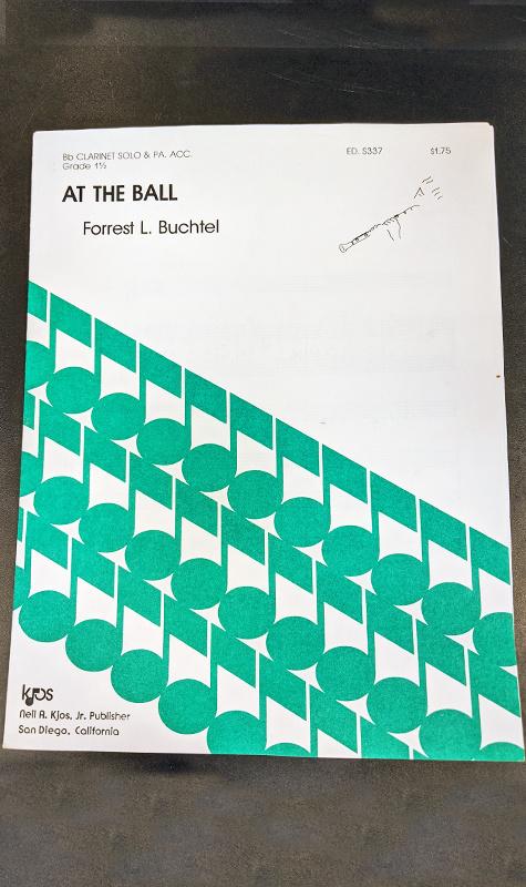 Kjos At the Ball - Bb Clarinet Solo with Piano accompaniment