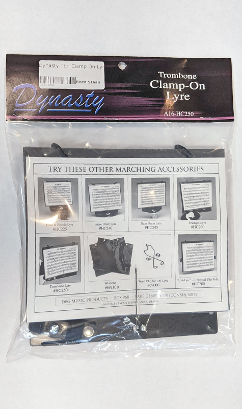 DEG Dynasty Trombone Clamp On Lyre