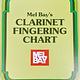 Mel Bay Mel Bay's Clarinet Fingering Chart