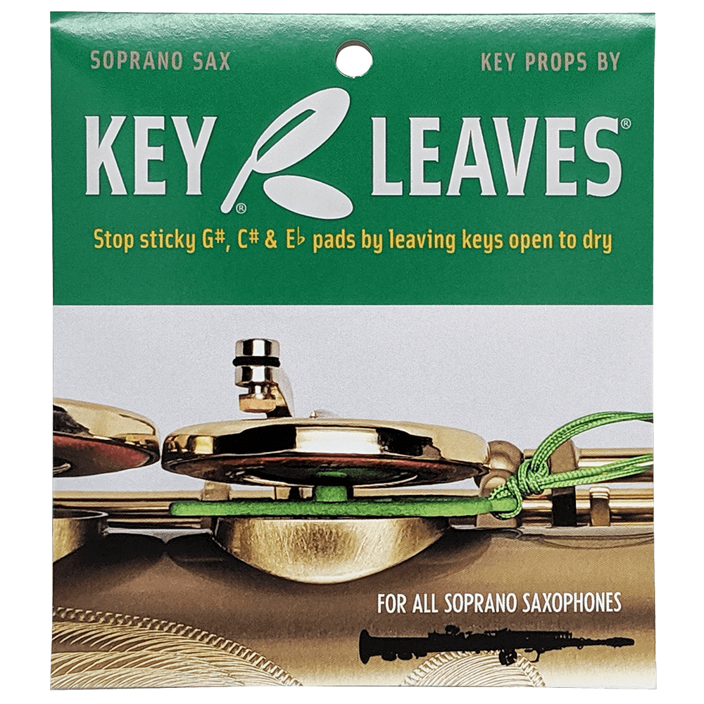 Key Leaves Key Props for Soprano Sax