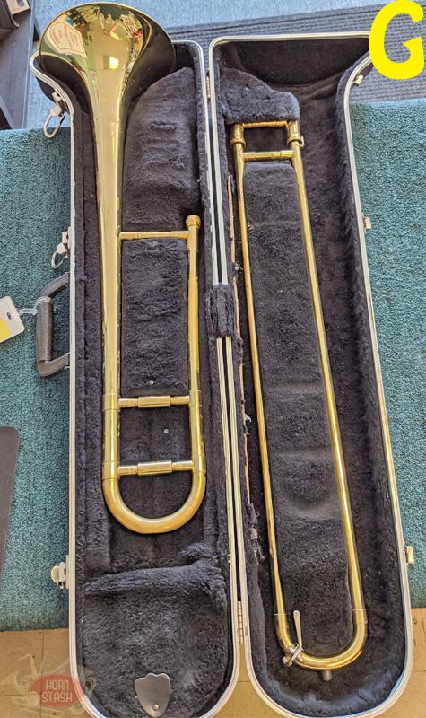 Various Used Student Trombone