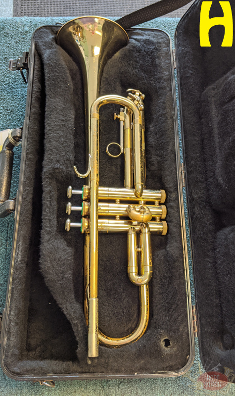 Various Used Student Bb Trumpet