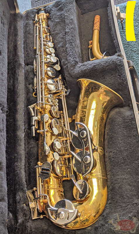Various Used Student Alto Saxophone