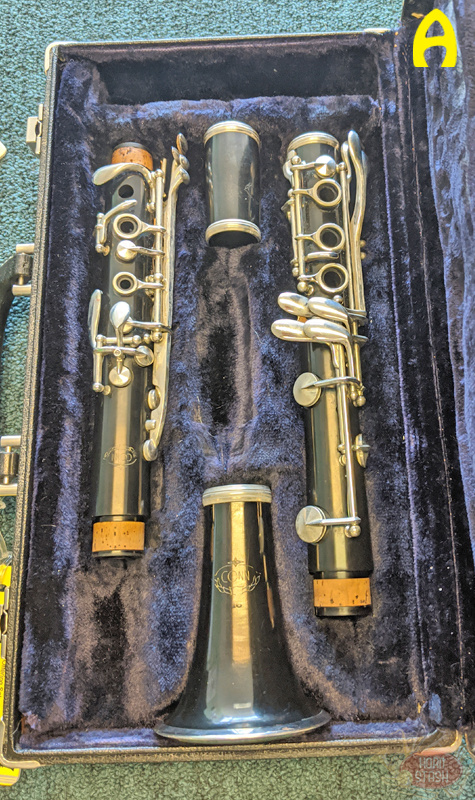 Various Used Student Bb Clarinet