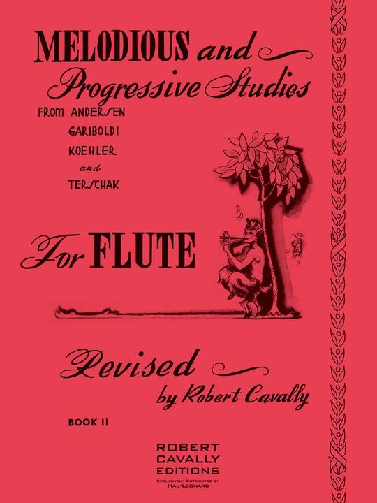 Hal Leonard Melodious & Progressive Studies for Flute Book 2