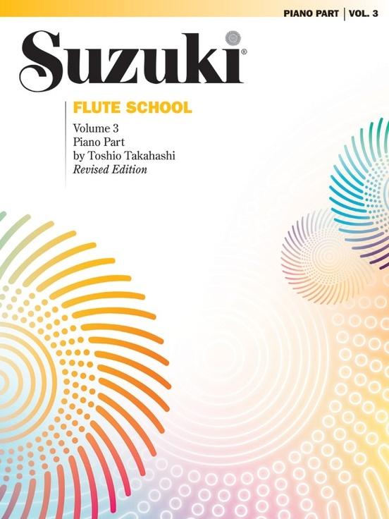 Alfred Suzuki Flute School Volume 3 for Flute or Piano