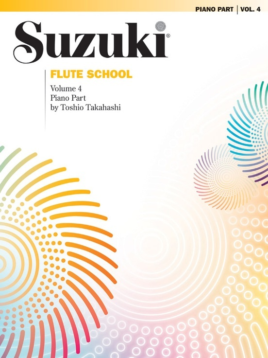 Alfred Suzuki Flute School Volume 4 for Flute or Piano