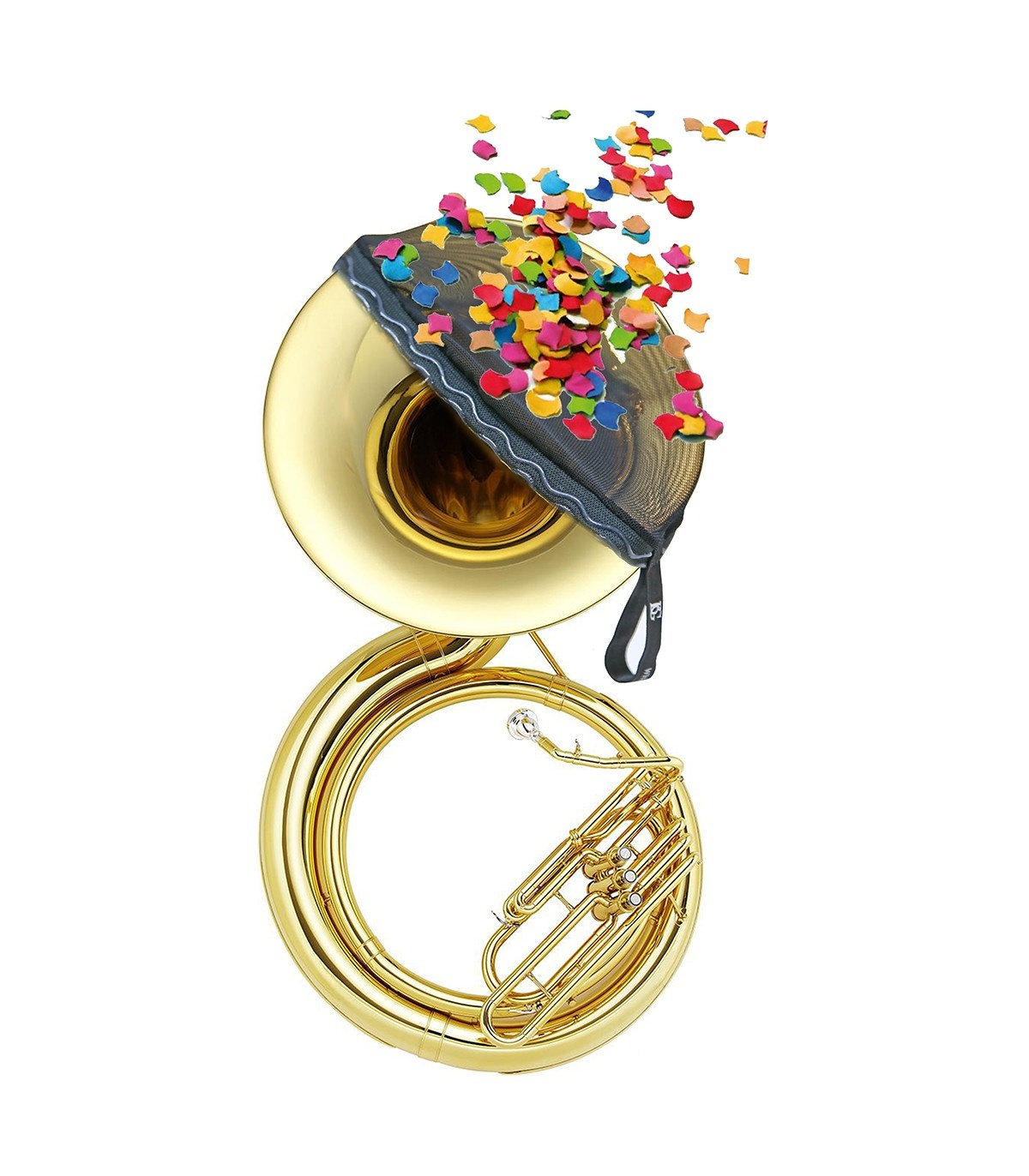 BG France BG ACTS Sousaphone Bell Cover and Confetti Protector