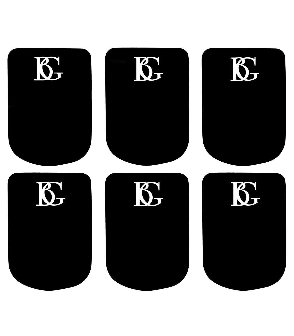 BG France BG Mouthpiece Cushions 0.8mm (Black)