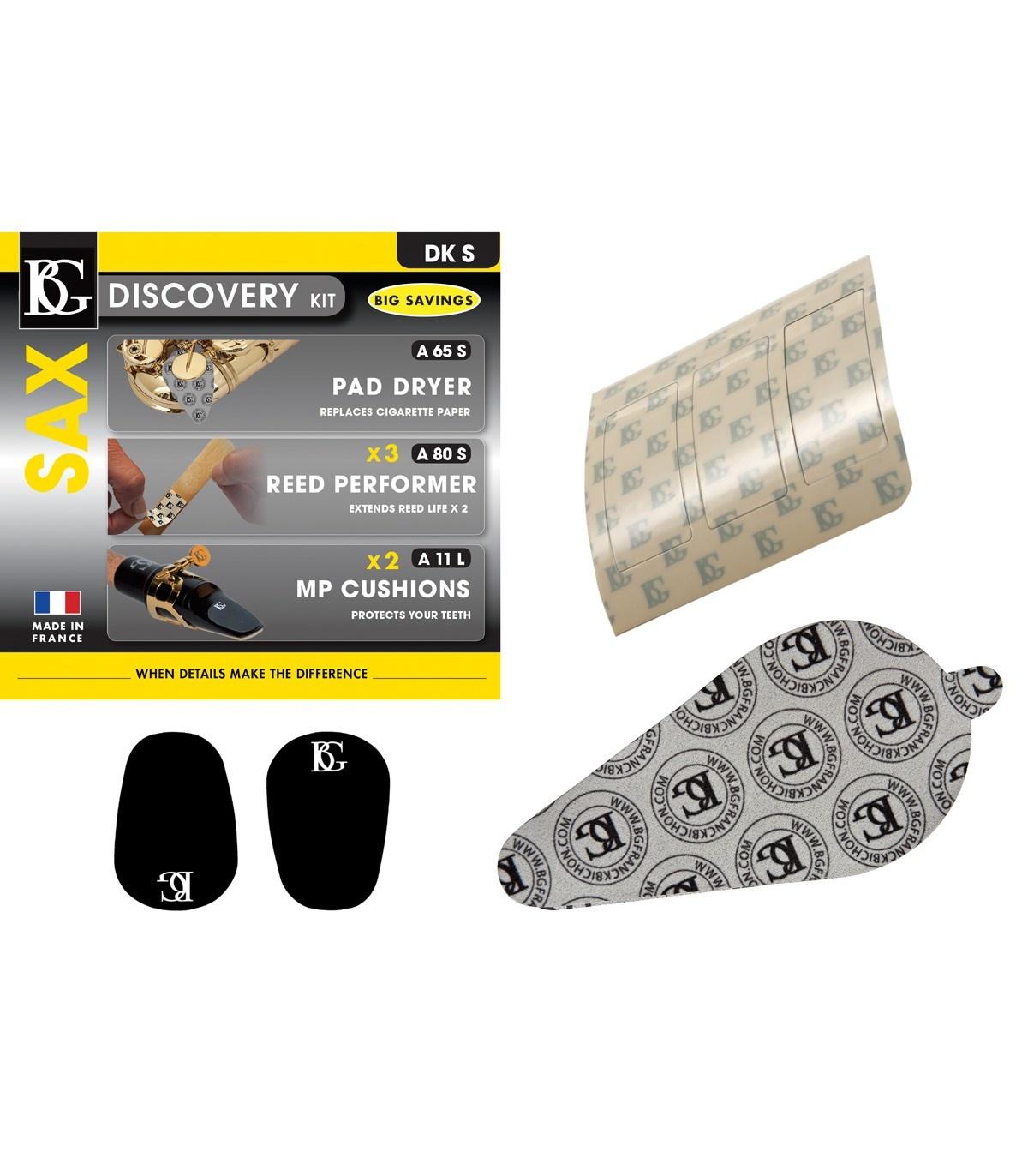 BG France BG Alto/Soprano Saxophone Discovery Kit