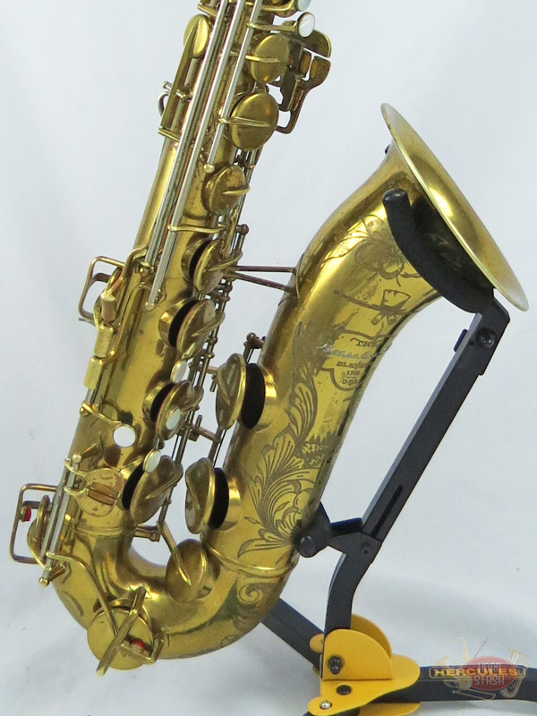 Buescher Used Buescher 400 Series Top Hat & Cane Tenor Saxophone - 3241XX