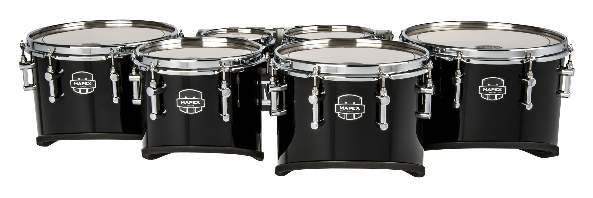 """Mapex 6""""/8""""/10""""/12""""/13""""/14"""" QUANTUM MARK II CALIFORNIA CUT SEXTET W/ PATENDED FFLB MOUNTING SYSTEM"""