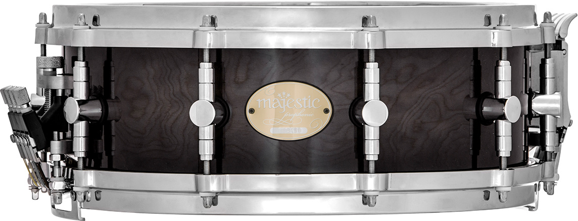 """Majestic """"Majestic Prophonic 14 in. x5 in.  Thick Maple Shell Snare Drum """""""