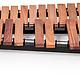 Majestic Majestic Gateway 3.3 Octave Padauk Practice Marimba