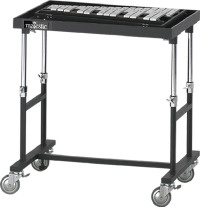 Majestic Majestic Height Adjustable Rolling Concert Bell Stand/Percussion Accessory Trap Table