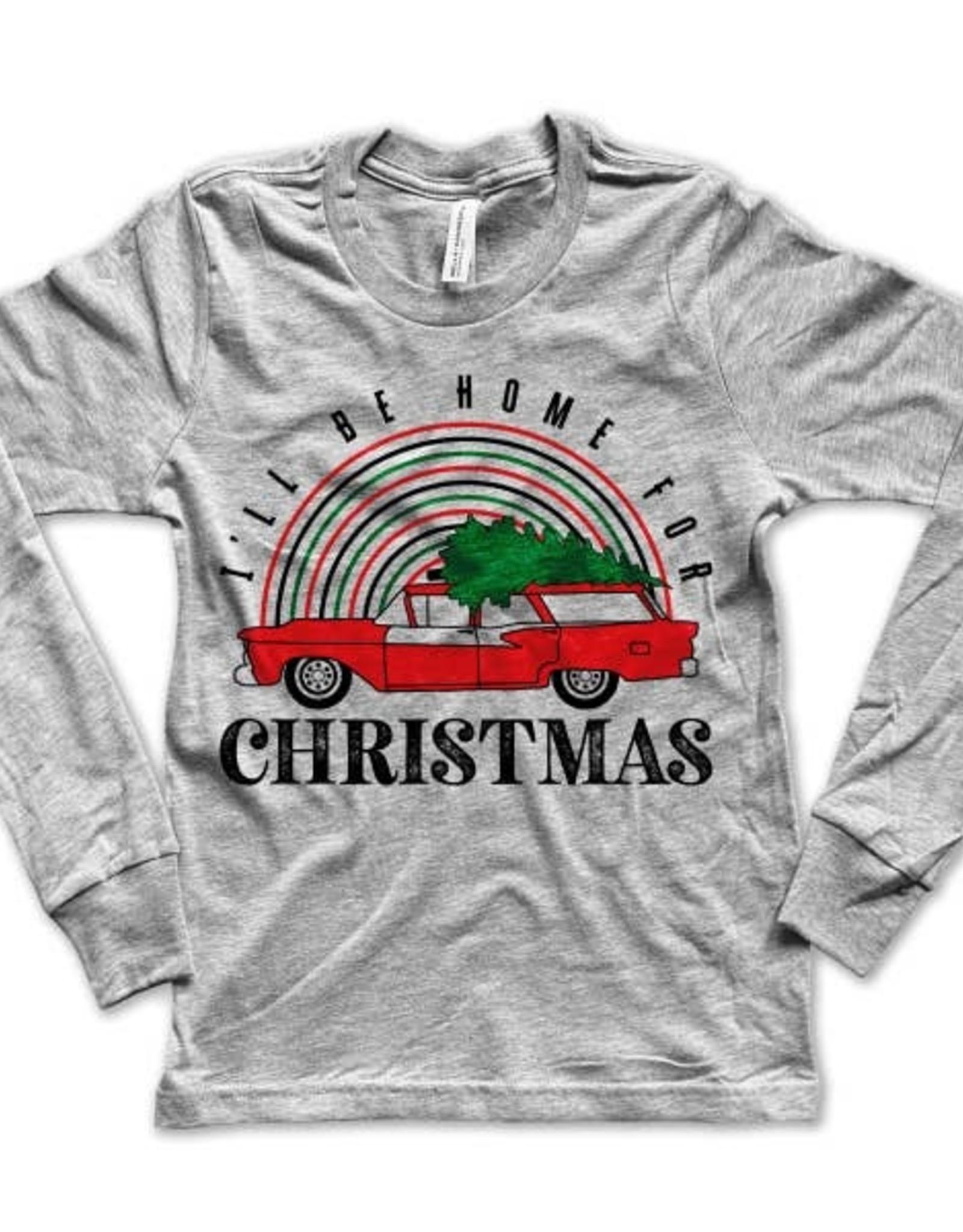Rivet apparel home for christmas tee