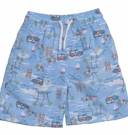 Flap happy Kona Bay Swim Trunks