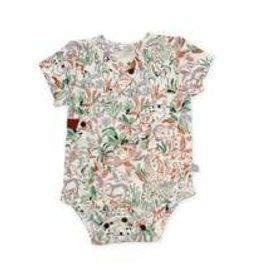 Finn and emma Finn and Emma Animal Kingdom Short Bodysuit