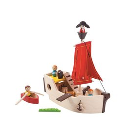 plan toys plan toys pirate ship