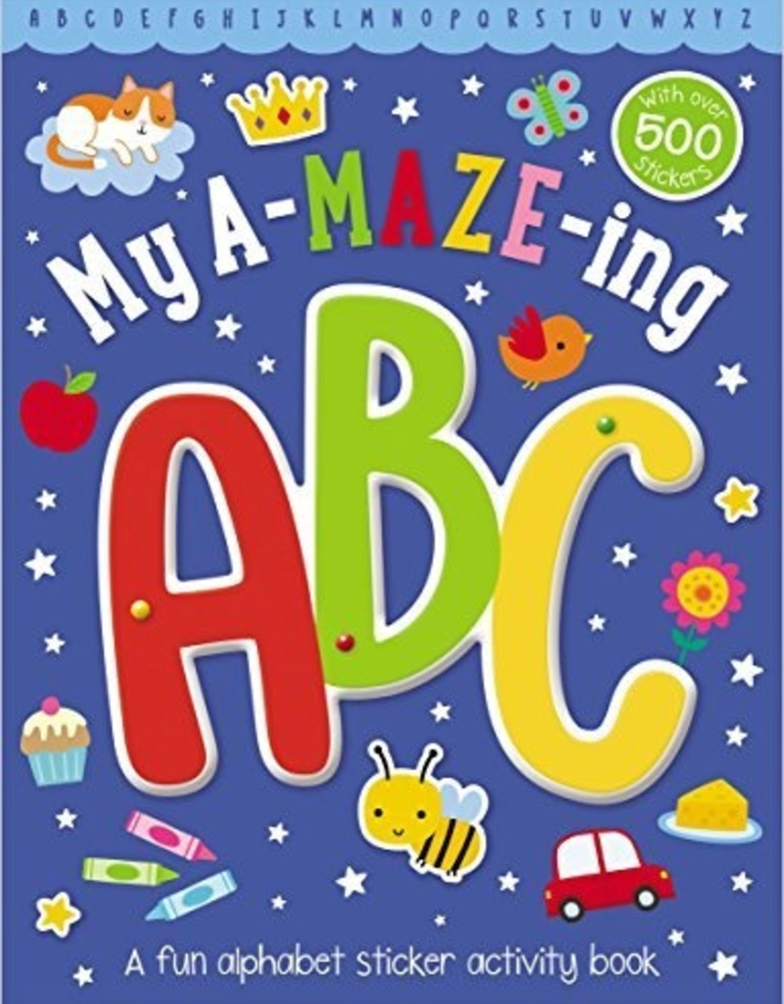 My A-maze-ing ABC activity book
