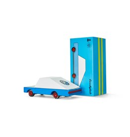 candylab blue racer candy car