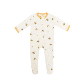 Kyte baby Kyte Baby Zippered Footie in Buzz