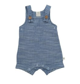Tiny twig Blue Chambray Overall