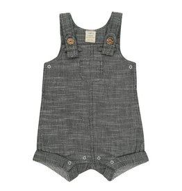 Grey Chambray Overalls