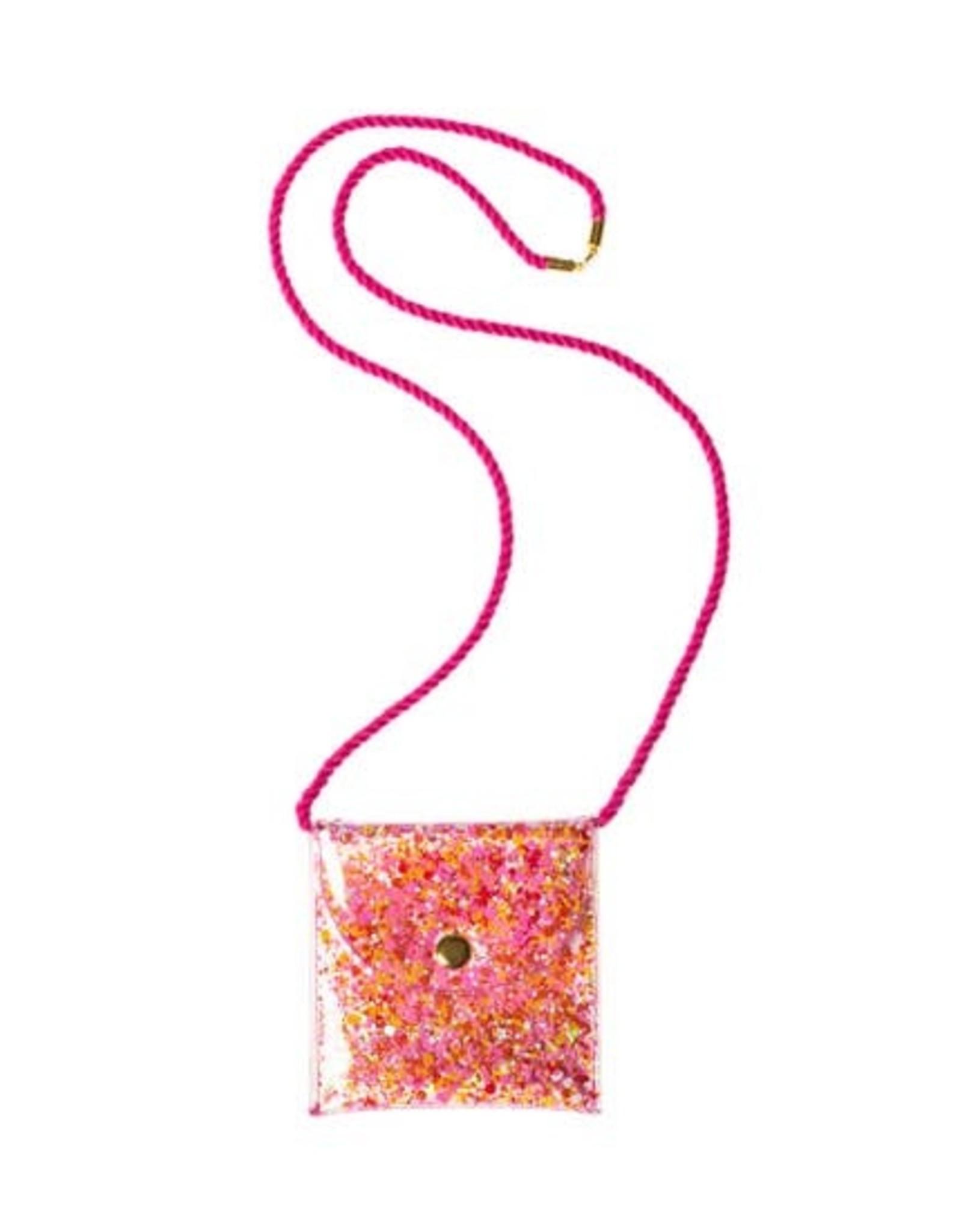 Rockahula mini sequin neck purse