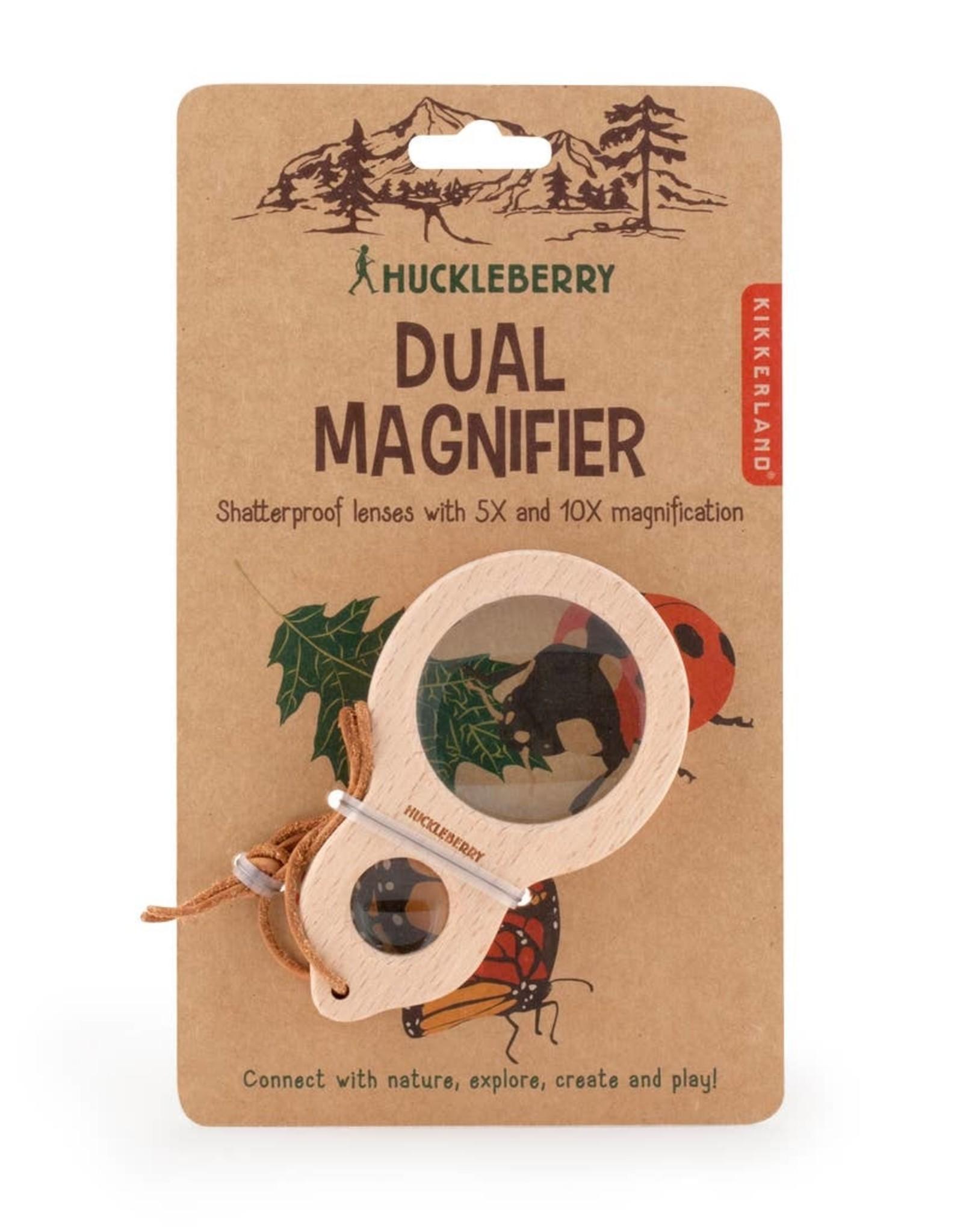 huckleberry by kirkland Huckleberry Dual Magnifier Glass
