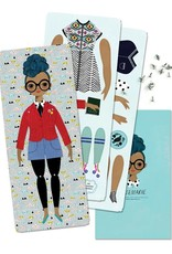 of unusual kind Rosemarie paper doll kit