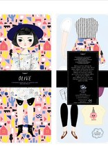 of unusual kind Olive Paper Doll kit