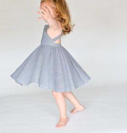 ollie jay Ollie Jay Stripe Cross Back Twirl Dress