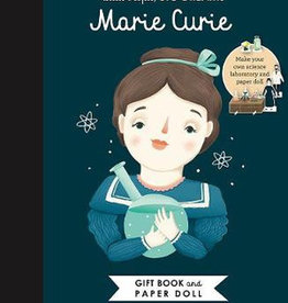 Little People, Big Dreams Marie Curie Book and Paper Doll