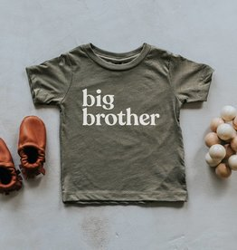 gladfolk Olive Big Brother Tee