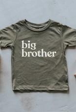 gladfolk Olive Big Brother Tee