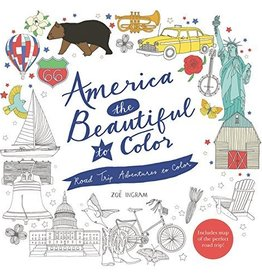 America the Beautiful to Color