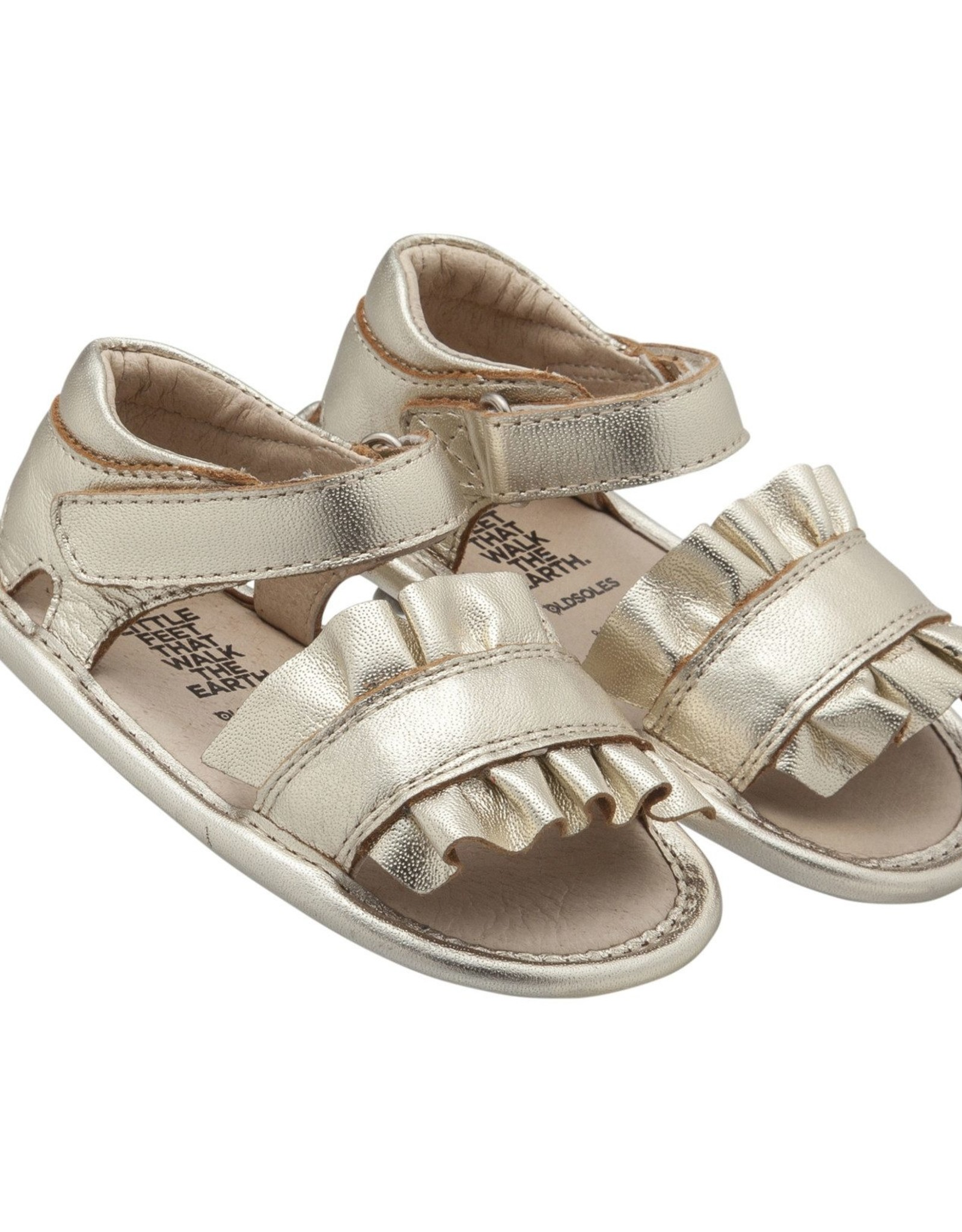 Old Soles Ruffle Baby Sandals