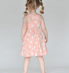 ollie jay Daisy Racerback Twirl Dress
