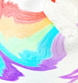 feeling smitten Rainbow Cloud Bath Bomb