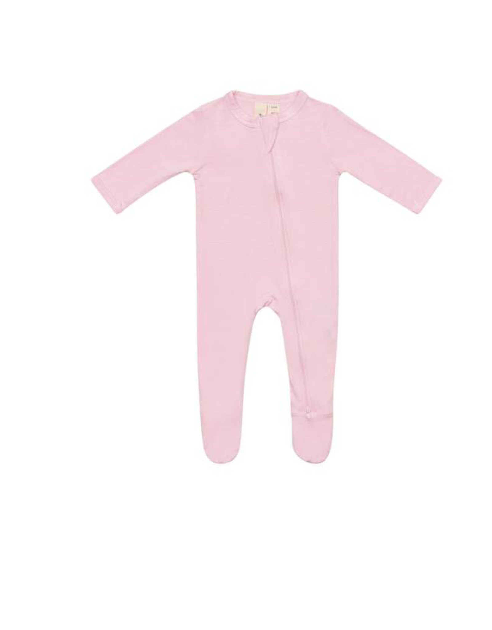 Kyte baby Zippered Footie in Peony