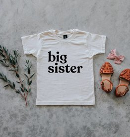 Big Sister Tee in Cream