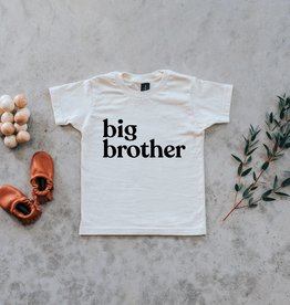 Big Brother Tee in Cream