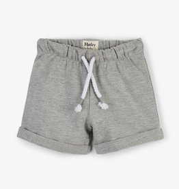 hatley Hatley Grey French Terry Baby Shorts