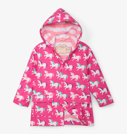 hatley Mystical Unicorns Color Changing Raincoat