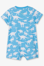hatley dino silhouettes baby romper